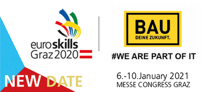 euroskills Graz 2020, NEW DATE 6.-10. January 2021